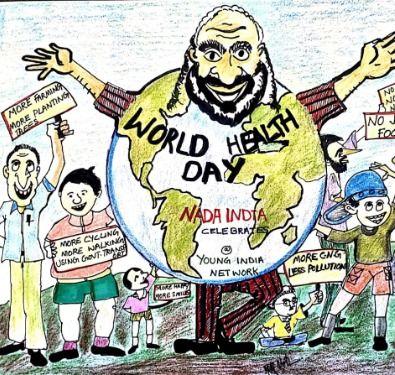 Nada India celebrates World Health Day 19