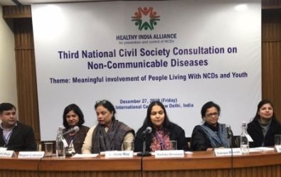Achieving the national Non-Communicable Disease (NCDs) targets, Sustainable Development Goals (SDGs) and Universal Health Coverage (UHC) calls for the adoption of a 'Whole-of-Society' (WoS) approach. Meaningful involvement of key stakeholders and constituencies, including individuals, families and communities, civil society, academia, People Living With NCDs (PLWNCDs) and youth, in NCD prevention and control, is a key strategy for a WoS approach. Identifying common priorities and pathways for these stakeholders to work synergistically is essential to amplify exiting efforts, both at the national and sub-national levels.