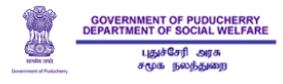 Government of Puducherry, Department of Social Welfare