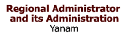 Regional administrator & its Administration